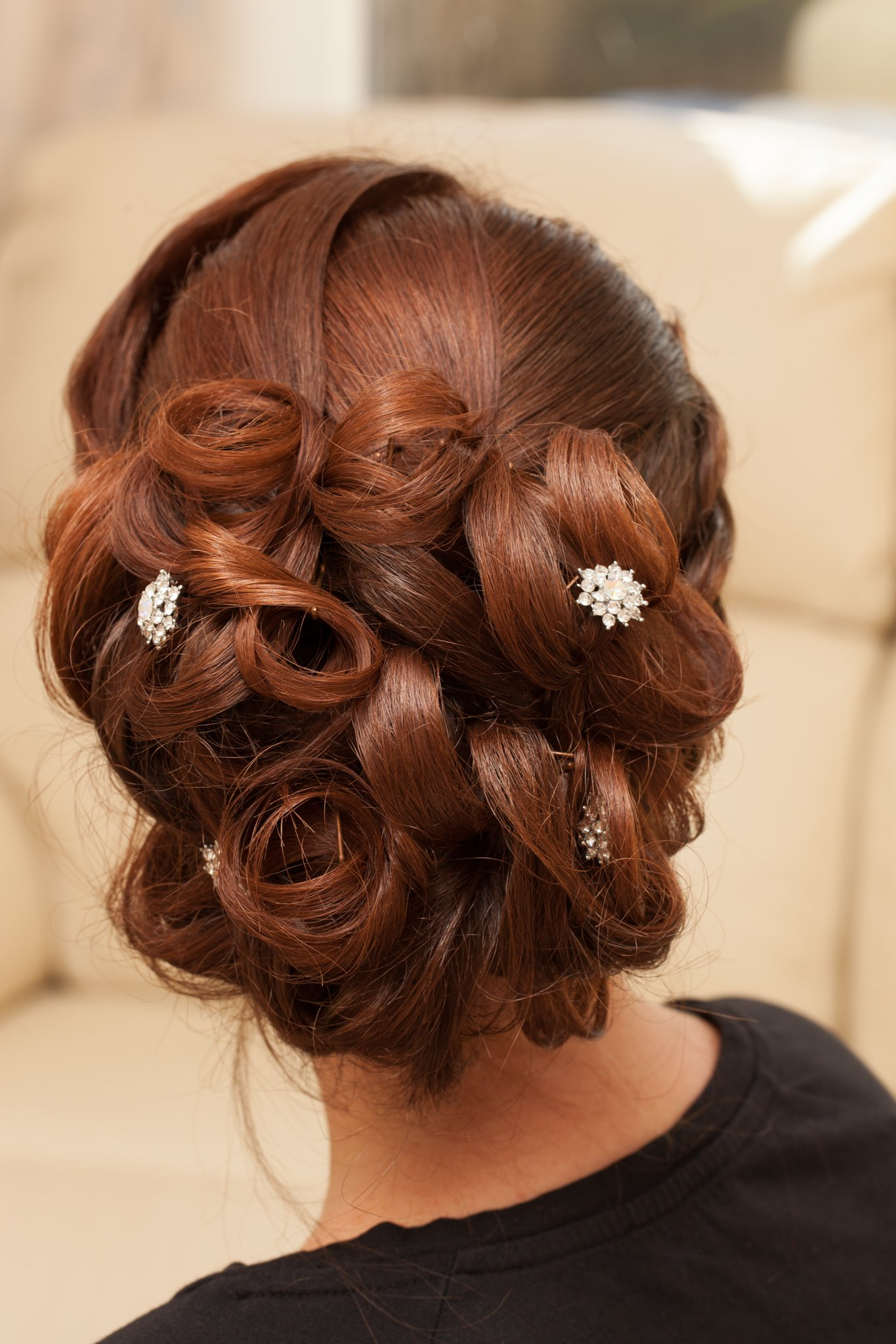 Wedding day; hairstyles, Tania Miller Photography