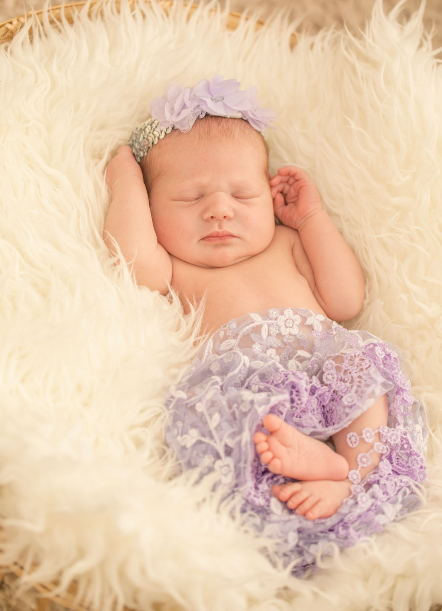 Newborn session with baby Felicity, Tania Miller Photography, Pontypool newborn photographer
