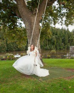 Wedding of Abbie & Rhys at Canada Lodge & Lake, Tania Miller Photography, Cardiff Wedding Photographer
