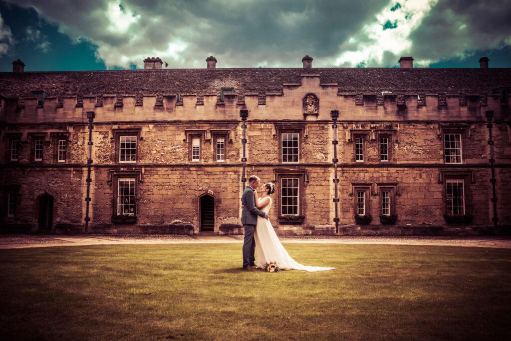 Oxford Wedding Ceremony, St Johns College Oxford, Tania Miller Photography, Abergavenny Wedding Photographer